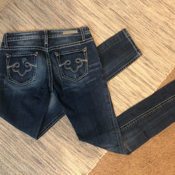 Express Skinny Ankle Jeans
